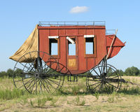 Stage Coach. Old West Stage Coach Royalty Free Stock Images