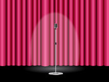 Stage with curtain Royalty Free Stock Photography