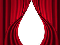Stage curtain Royalty Free Stock Photo