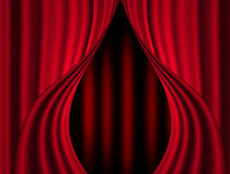 Stage curtain vector illustration
