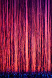 Stage curtain vertical Stock Photography