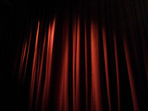 Stage Curtains Royalty Free Stock Image