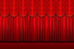 Stage Curtains Stock Images