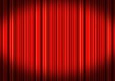 Stage Curtains stock illustration