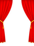 Stage curtains Royalty Free Stock Photo