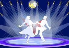 Stage dance Royalty Free Stock Photos