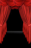 Stage Drapes Royalty Free Stock Photos