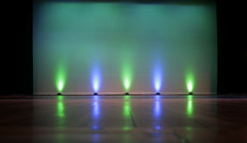 Stage - Empty with Screen Royalty Free Stock Images
