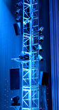 Stage Equipment Royalty Free Stock Photography