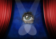 Stage Fright Royalty Free Stock Photography