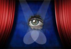 Stage Fright stock illustration