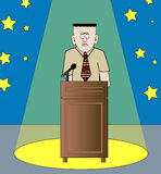 Stage fright Royalty Free Stock Images