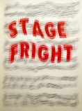 Stage Fright Royalty Free Stock Photos