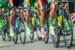 Stage 17 of the Giro d'Italia Royalty Free Stock Photography
