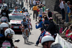 Stage of Giro d'Italia Royalty Free Stock Photo