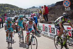 Stage of Giro d'Italia Stock Photography
