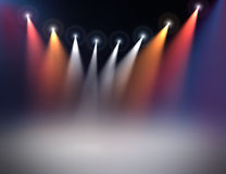 Stage illumination Stock Photography