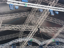 Stage illumination light equipment and projectors Stock Images