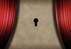 Stage Key Royalty Free Stock Photo