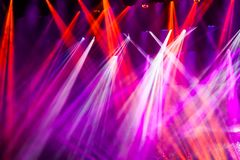 Stage light,blur background. Colorful stage light,blur background stock image