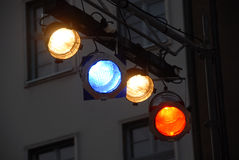 Stage light equipment Royalty Free Stock Image