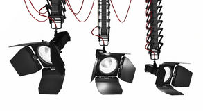 Stage light Pantograph royalty free stock photography