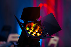 Stage light source Stock Image