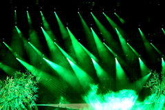 Stage and lighting Stock Images