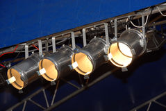 Stage Lighting stock image