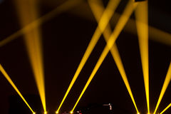 Stage Lighting. Abstract and beautiful stage lighting royalty free stock photo