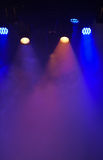 Stage lighting Royalty Free Stock Photography
