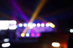 The stage lighting, bokeh. ,A close-up royalty free stock photo