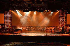 Stage Lighting Royalty Free Stock Photo