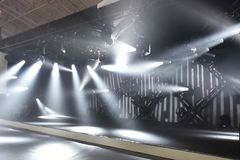 Stage lighting. Is the craft of lighting as it applies to the production of theatre, dance, opera and other performance arts. Several different types of stock images