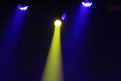 Stage lighting effect Stock Images