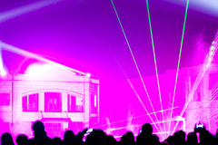 Stage lighting effects Stock Photos