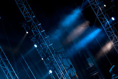 Stage lights 01 Royalty Free Stock Photos