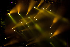 Stage lights 05. Image of stage lighting effects stock photography