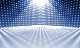 Stage lights. An image of a stage lights background Royalty Free Stock Image