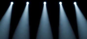 Stage Lights stock image