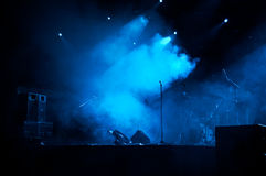 Stage In Lights 2 Stock Photography