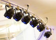 Free Stage Lights. Stock Image - 37349571