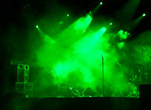 Stage In Lights stock photos