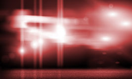 Stage lights. Background image with stage blurred lights and beams royalty free stock images