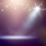 Stage lights background Stock Images