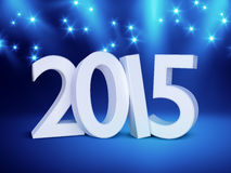 Stage lights background. An image of a nice stage lights new year 2015 Royalty Free Stock Photos