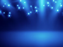 Stage lights background. An image of a nice stage lights background for your content Royalty Free Stock Photo