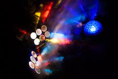 Stage Lights. Royalty Free Stock Photos