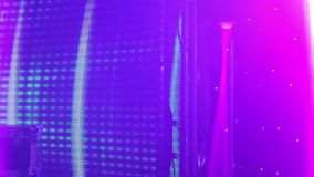Stage lights at the concert with fog, Stage lights on a console, Lighting the concert stage, entertainment concert stock footage
