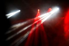 Concert light show Royalty Free Stock Images